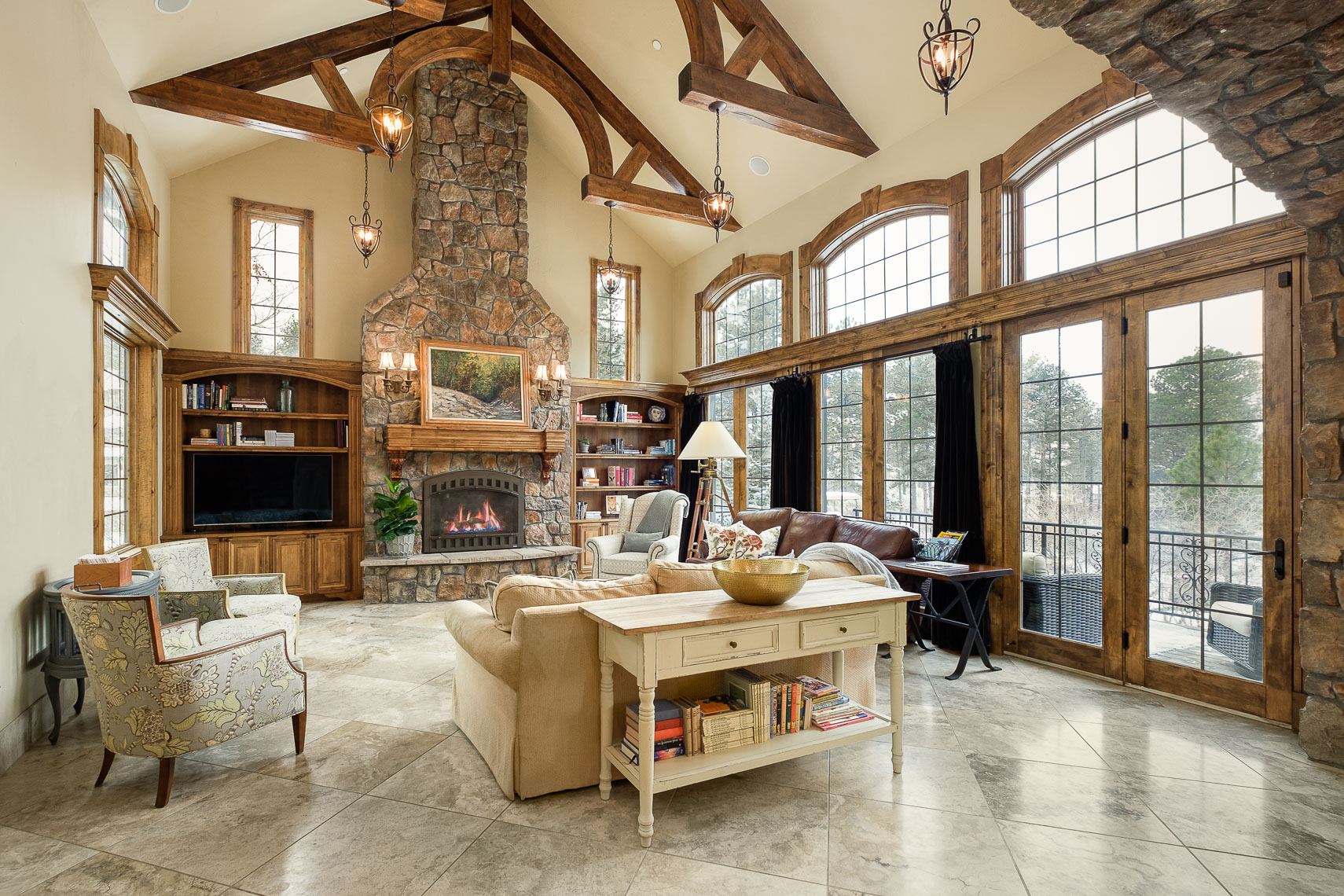 Tuscan Style Great Room