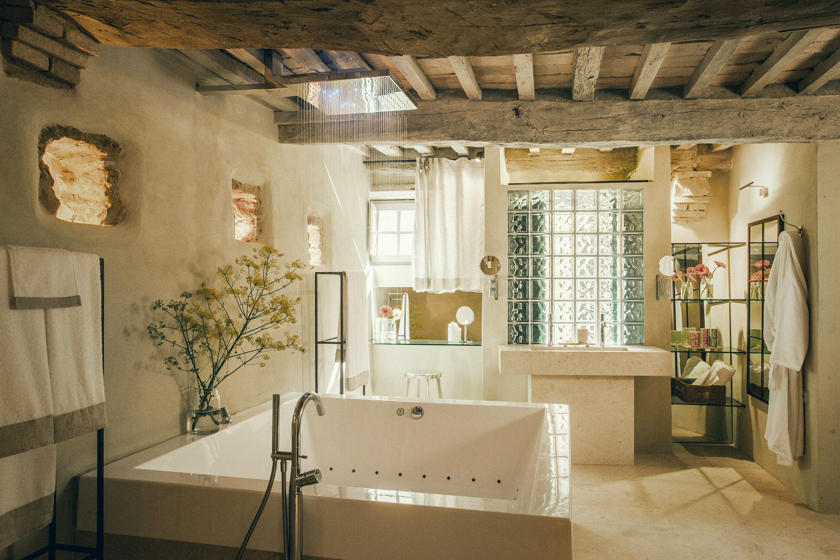 Tuscan Bathroom